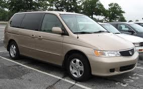 Stereotypical Honda Odyssey