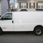 Classic White Rape Van