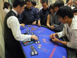 Asians love to gamble